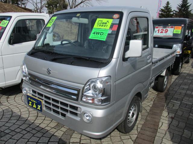 スズキ KX ABS装着車 4WD CDデッキ AC・パワステ・PW
