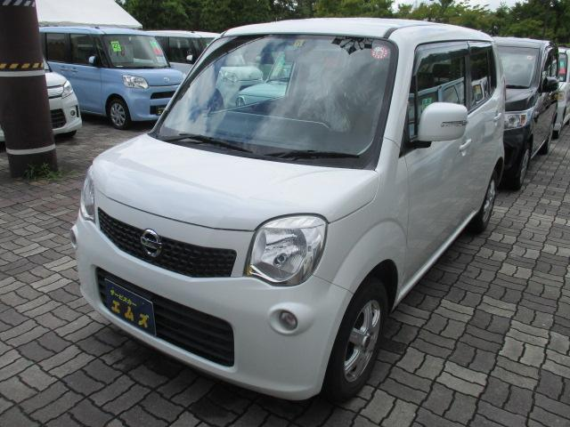 日産 モコ X FOUR 4WD CD・MDデッキ 社外13インチアルミ