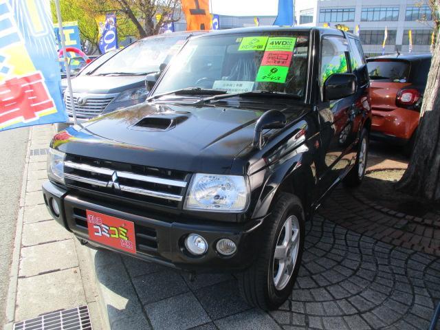 三菱 アクティブフィールドエディション ターボ 4WD ワンセグTV・HDDナビ 社外15インチアルミ キーレス ABS フォグランプ