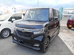 N BOXカスタムG・Lターボホンダセンシング 4WD 届出済未使用車