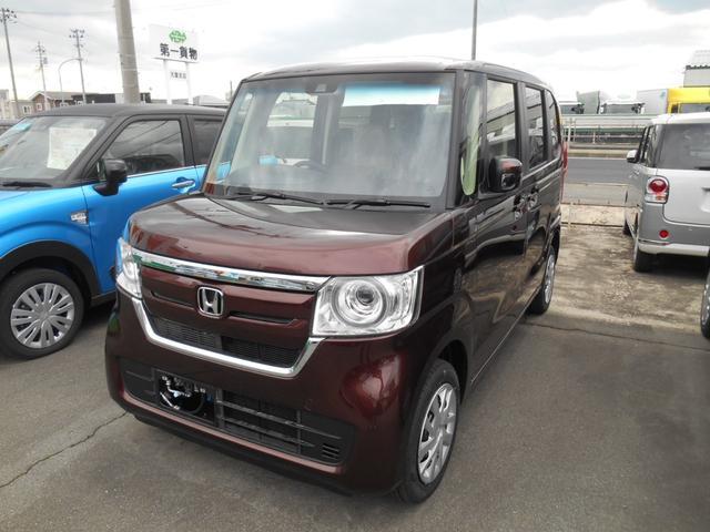 ホンダ G・Lホンダセンシング 4WD ナビ装着用スペシャルパック 電動スライドドア 届出済未使用車