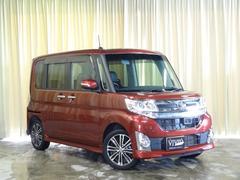 タントカスタムRS トップエディションSA 純8型SDナビ 4WD