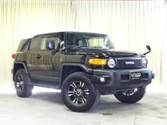 FJクルーザーブラックカラーパッケージ 社外メモリーナビ キセノン 4WD