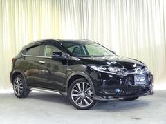 ヴェゼルハイブリッドX・Lパッケージ 純SDナビ 黒革シート 4WD