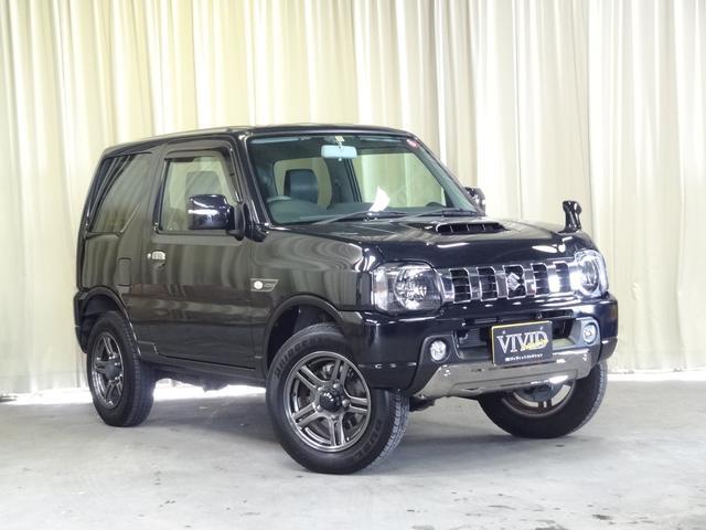 スズキ ランドベンチャー 社外SDナビ バックカメラ 切替4WD