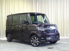 N BOXカスタムG・Lホンダセンシング 外メモリーナビ 届出済未使用 4WD