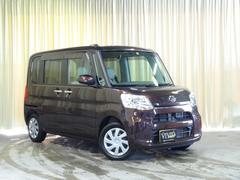 タントL SA 純正SDナビ バックカメラ エコアイドル 4WD