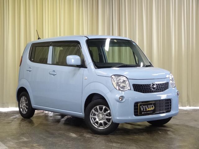 日産 モコ S FOUR 社外メモリーナビ インテリキー 4WD