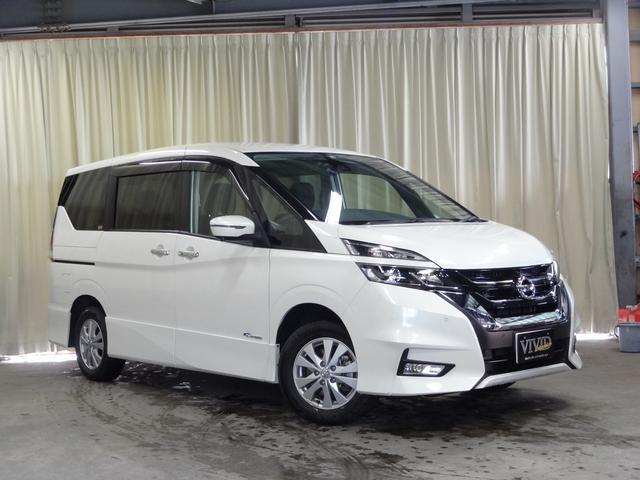 日産 セレナ ハイウェイスター Vセレクション 純正メモリーナビ 4WD