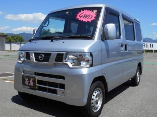 日産 4WD DX GLパッケージ 純正ナビ キーレス