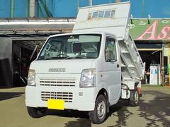 キャリイトラック電動油圧式頑丈ダンプ 切替式4WD Tチェーン車