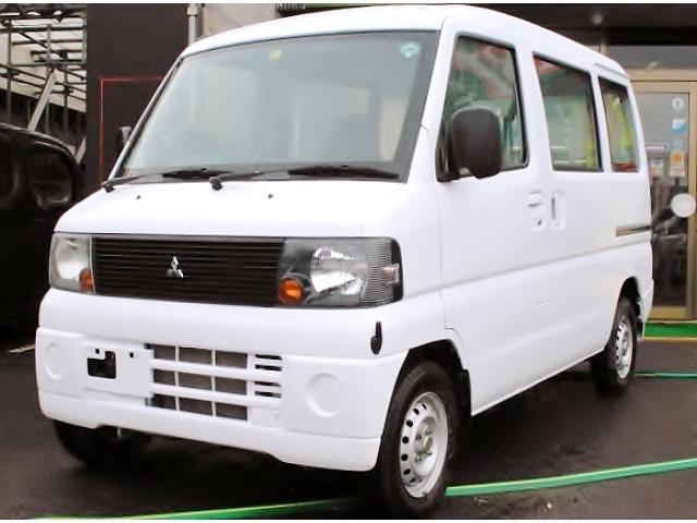 三菱 ミニキャブバン CD 切替式4WD エアコン パワステ (検...