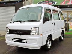 サンバーバンVB 切替式4WD エアコン パワステ SRS