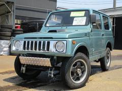 ジムニー4WD 社外マフラー 社外ヘッドライトリフトアップ