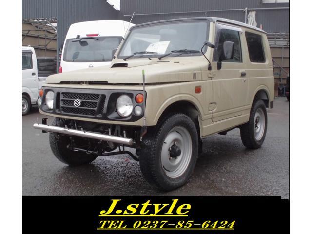 スズキ XLリミテッド 色替黒 4WD AC PS