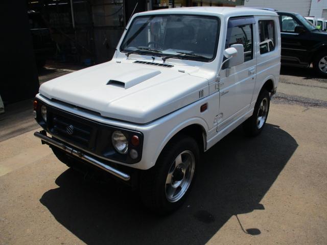 スズキ XLリミテッド 色替白 4WD AC AW PS
