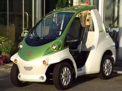 トヨタコムス Pcom アルミ付 小型電気自動車EV 100V充電