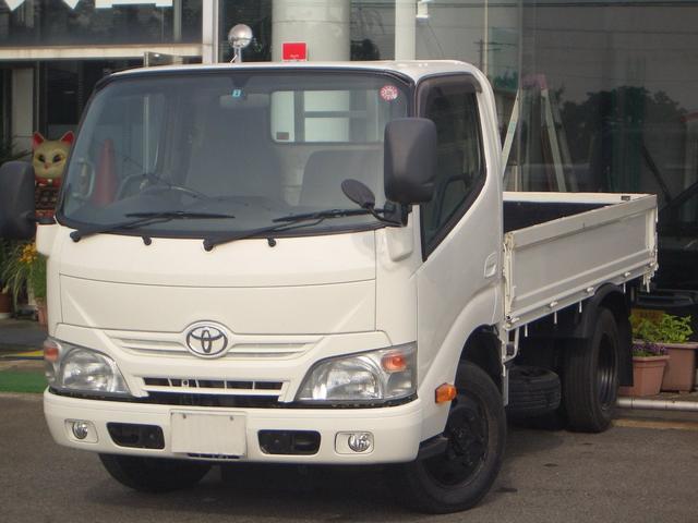 トヨタ ダイナトラック 4WDフルジャストロー4LDターボ木製床