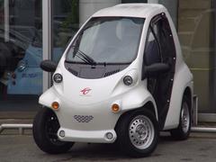 トヨタコムスPcomデモカードア付小型電気自動車EV 100V充電