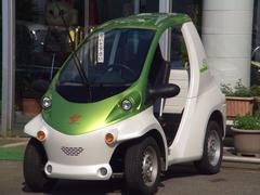 トヨタコムスPcom 小型電気自動車EV 100V充電
