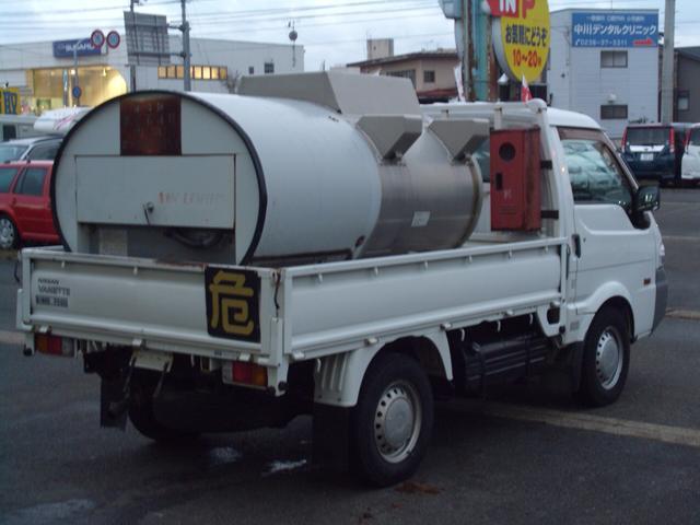 日産 4WDディーゼル 1kタンクローリーロングホースDPF付