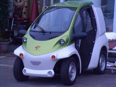 トヨタBcom ドア付 小型電気自動車EV 100V充電