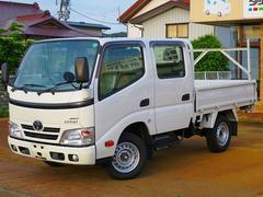 ダイナトラックWキャブロングシングルジャストロ 4WD