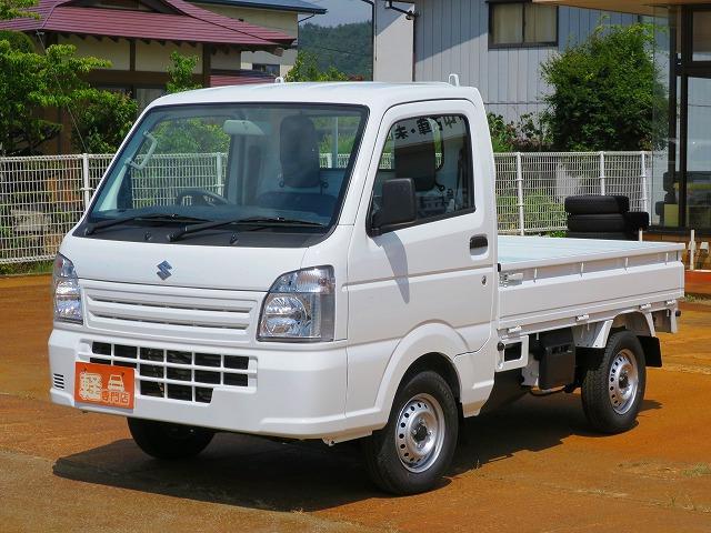 スズキ KCエアコン・パワステ 4WD 届出済未使用車