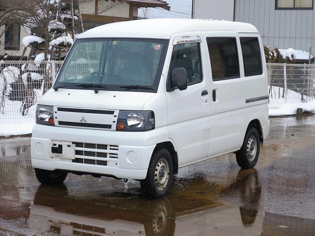 三菱 CD 4WD フロア3AT エアコン・パワステ