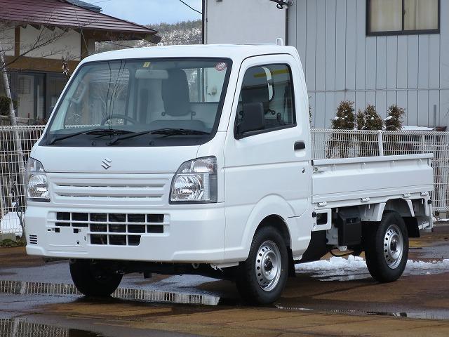 スズキ KCエアコン・パワステ 4WD 5MT 届出済未使用車
