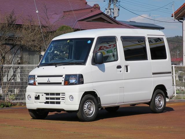 三菱 CDハイルーフ 4WD 5MT エアコン