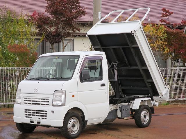 マツダ ダンプ 4WD 5MT エアコン・パワステ 保証付