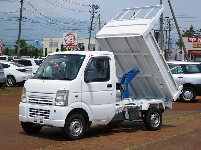 スズキ キャリイトラック ダンプ 4WD 5MT エアコン パワステ