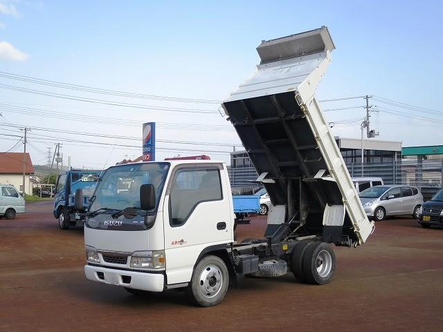 いすゞ エルフトラック 強化ダンプ 2WD フロア5MT エアコンパワステ ETC