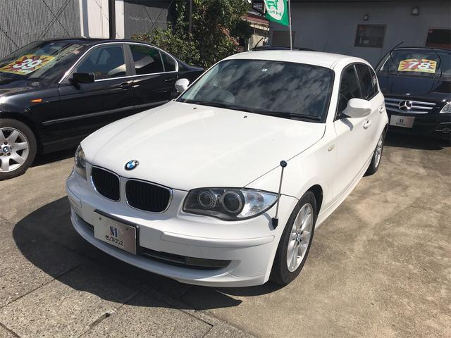 BMW 1シリーズ 116i ナビ AT AW ETC スマートキー ホワイト