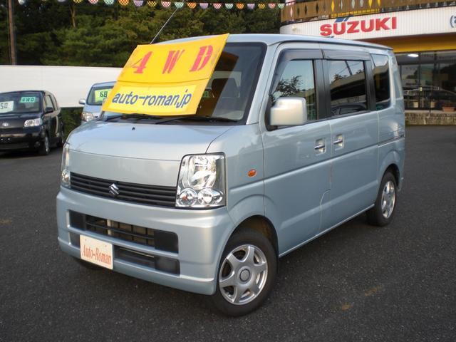 スズキ エブリイワゴン JP 4WD CD キーレス シートヒーター
