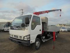 エルフトラック小型クレーン付 ユニック4段 ラジコン PA−NPR81N