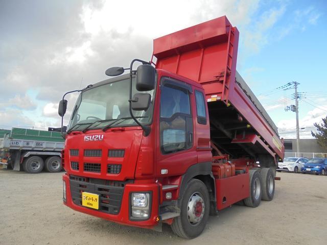 いすゞ 大型ダンプ 自動シート QKG-CXZ77AT