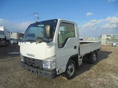 エルフトラック小型平ボデー 切替4WD TKG−NHS85A
