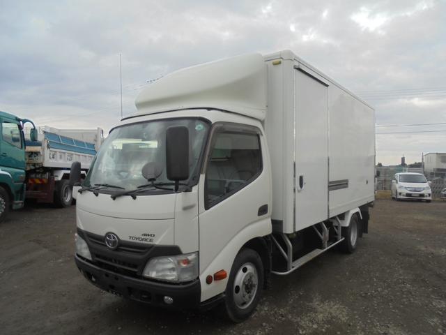 トヨタ 冷凍冷蔵車 菱重冷凍機低温 切替4WD TKG-XZU695