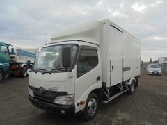 トヨエース冷凍冷蔵車 菱重冷凍機低温 切替4WD TKG−XZU695
