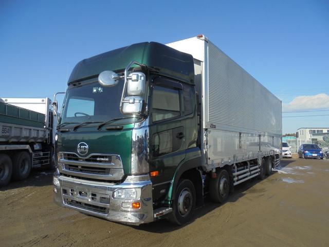 UDトラックス 大型ウイング 総輪エアサス エスコット LKG-CG5ZE