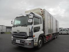 クオン大型冷蔵冷凍車 菱重冷凍機低温 エスコット QKG−CW5Z
