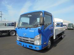 タイタントラック小型平ボデー アルミブロック3方開 BKG−LLR85AR
