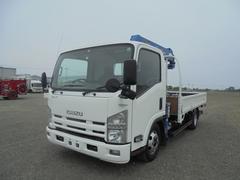 エルフトラック小型クレーン タダノ6段 スムーサー SKG−NPR85AN