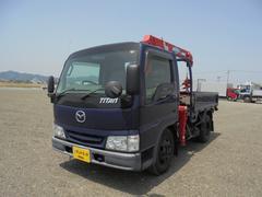 タイタントラック小型クレーン付 ユニック3段 KK−WHF5T