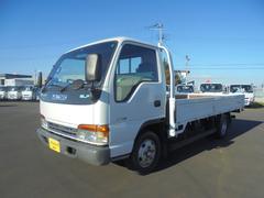 エルフトラック2t平ボデー セイコラック3個 KK−NPR71LAR