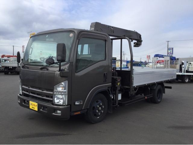 いすゞ 小型クレーン付平 タダノ4段 ラジコン TKG-NPR85A