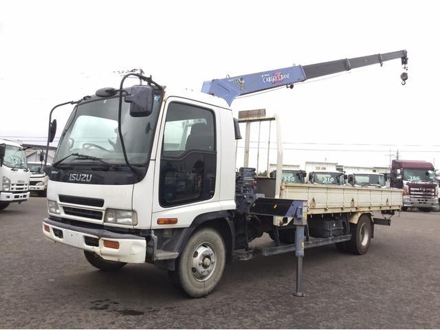 いすゞ タダノ4段 フックイン  積載2.9t 5700ボディ