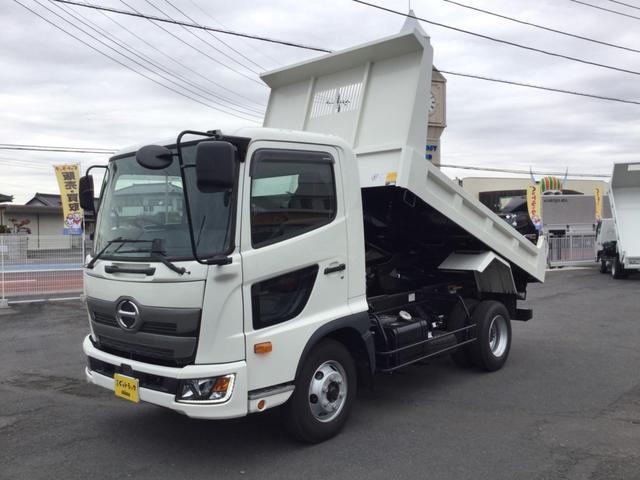 日野 極東開発製ダンプ積載3.65t  未稼働車